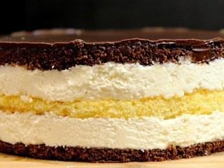 Торт «Пташине молоко» з кремом з манки. Цей смак не забуду ніколи!