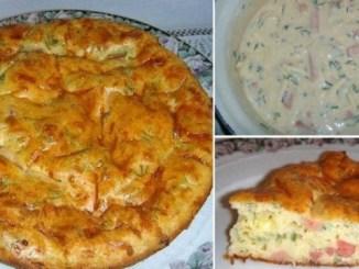 Швидкий пиріг до сніданку. Незрівнянно смачна і ситна закуска для всієї родини!