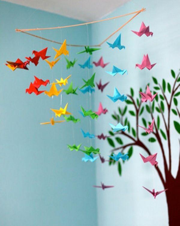 бумажный декор для детского праздника