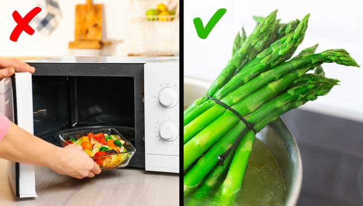 как готовить спаржу