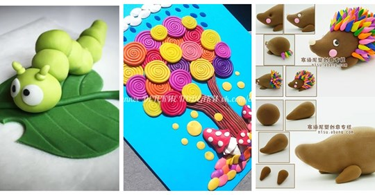 Творчість з пластиліну: 75 ідей та майстер-класів для дітей та дорослих