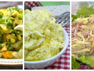 Раз яйце, два яйце: 10 рецептів простих та смачних яєчних салатів