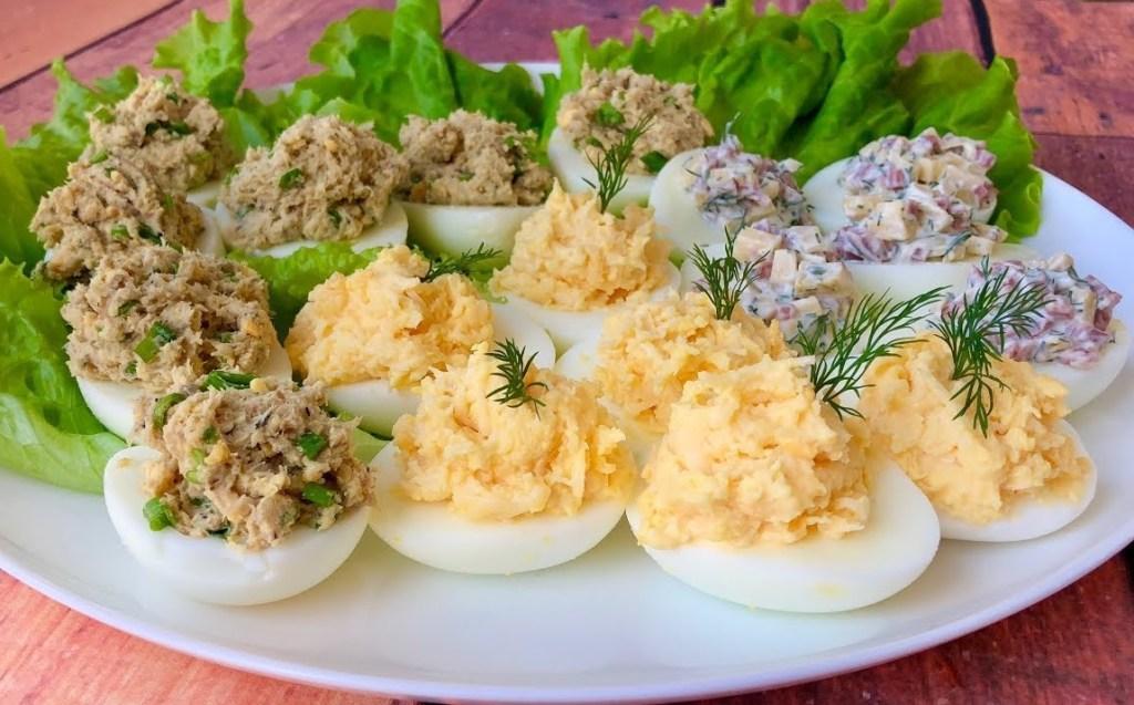 25 начинок для фаршированих яєць на будь-який смак