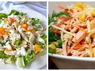Святкові салати нашвидкуруч — покрокові рецепти