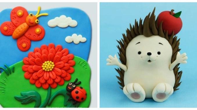 Дитяча творчість: вироби із пластиліну (більше 50 ідей та майстер-класів)