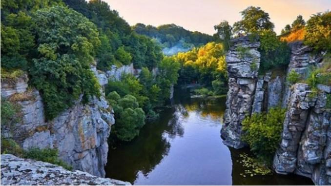 Буцький каньйон на Черкащині / Фото Amazing Ukraine