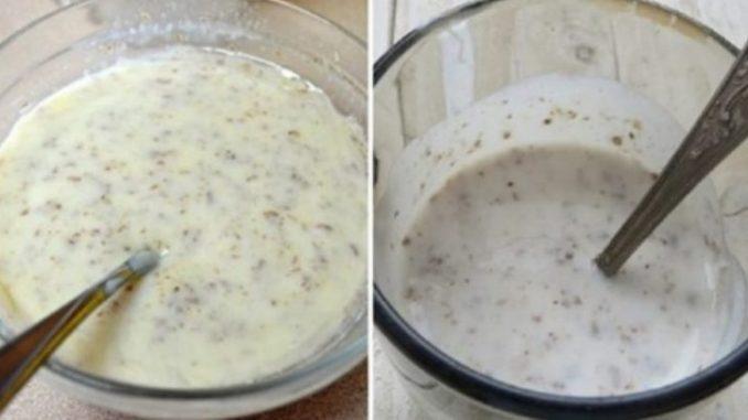 Навіщо пити кефір з насінням льону вранці: дві вагомі причини