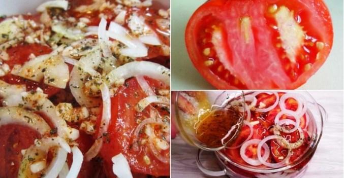 Мед, базилік, цибуля та прянощі для ароматних помідорів за 5 хвилин!