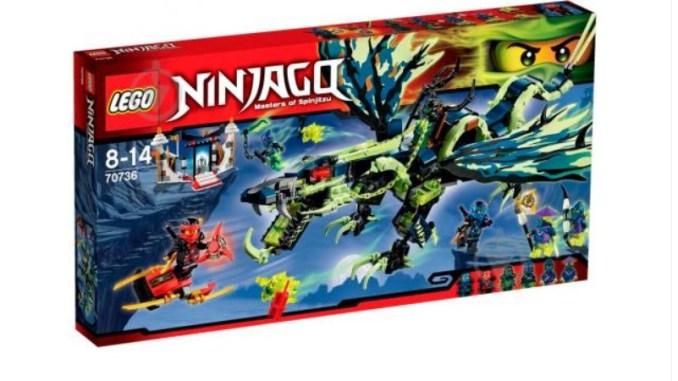 LEGO NINJAGO LEGO NINJAGO - Атака дракона Моро