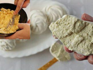 Банановий зефір в домашніх умовах — покроковий рецепт з фото