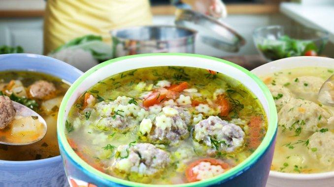 5 нових способів приготувати смачний суп з фрикадельками