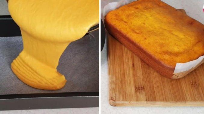 Торт, який не потрібно розкачувати і пропитувати: виходить смачним, вологим і ніжним