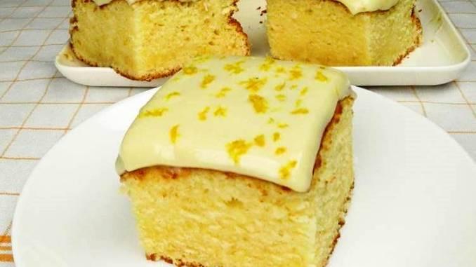 Лимонний пиріг! Простий рецепт дуже смачного і ароматного пирога