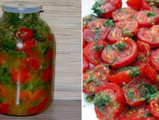 Швидкісний рецепт помідорів по-корейськи з морквою і перцем. Готові вже на наступний день
