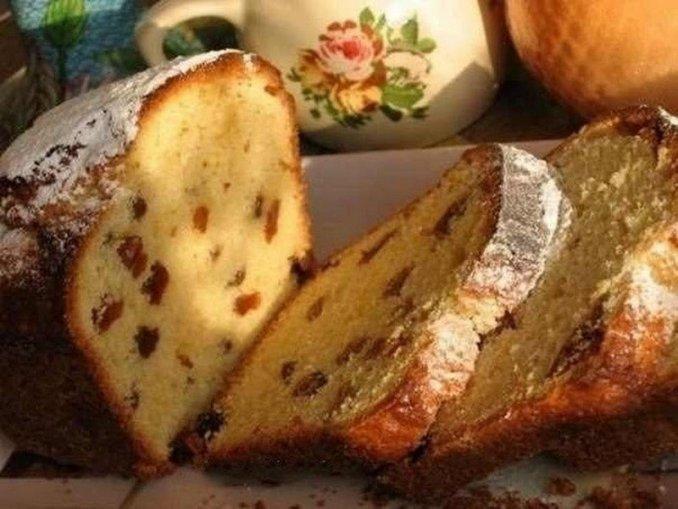 П'ятихвилинний пиріг на кефірі — виходить ніжним, пишним і дуже смачним!