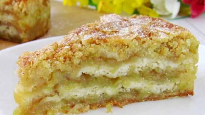 Яблучна смакота: пиріг тане в роті! Простий і швидкий рецепт