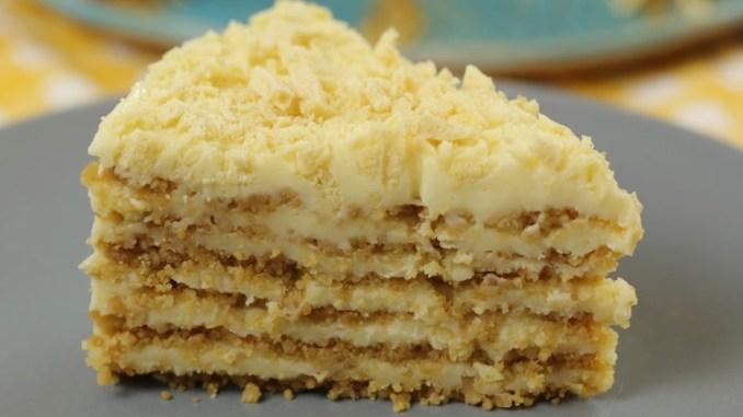 Без духовки і печива! Ніжний, дуже смачний тортик ПЛОМБІР. Готується просто і швидко.