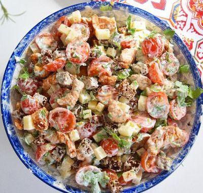 Виручає завжди: ефектний і ситний салат «Баварський». Дуже смачно!