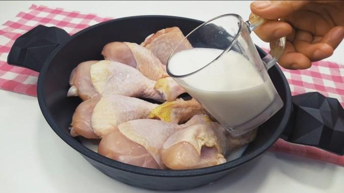 Зараз я готую курку тільки так! Рецепт хрустких курячих гомілок на сковороді