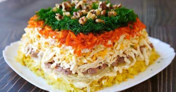 Цей салат завжди готую на Новий рік! Традиційний рецепт салату на святковий стіл