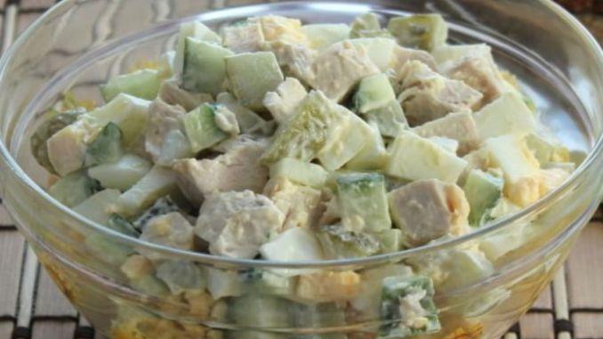 Неймовірно смачний та легкий салат з куркою. Шукала саме цей рецепт!