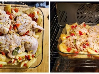 Беру картоплю та курку і готую цей дуже простий рецепт. Смачна вечеря для всієї родини!