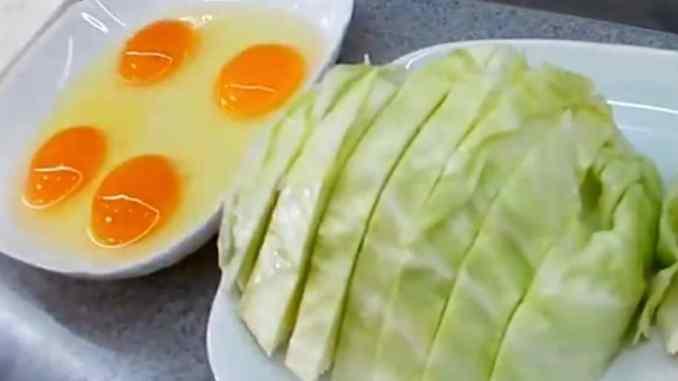 Беру капусту і яйця і роблю цікаву «смакоту» за лічені хвилини на сковороді