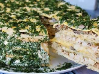 Закусочний торт «Царський», його приголомшливий смак будете пам'ятати довго
