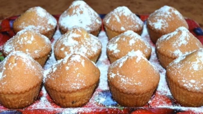 Рецепт ароматних кексів за 15 хвилин