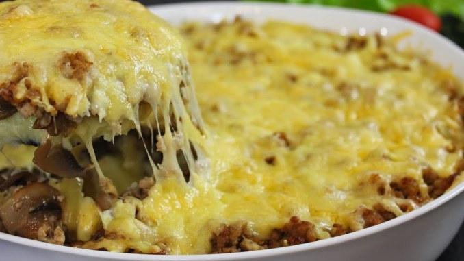 Усі гості просили рецепт! Це найсмачніша картопляна запіканка, яку я готувала!