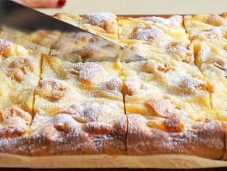 І торта не треба! З яблуками і кремом цей пиріг просто незрівнянний: простий і швидкий