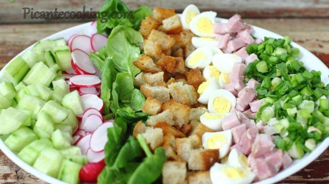 Салати на Великдень — підбірка смачних та яскравих салатів, які можна приготувати на великодній стіл