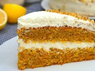 Морквяний торт з незвичайним кремом. Бюджетна випічка до чаю!