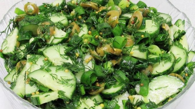 Новинка! Беру огірки і готую салат на вечерю! Огірковий салат за 1 хвилину