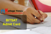 BITSAT Admit card | BITSAT 2017 Hall Ticket :- Download Now