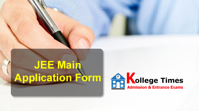 JEE main 2018 Application form | JEE Main Exam :- Apply Here - Admission