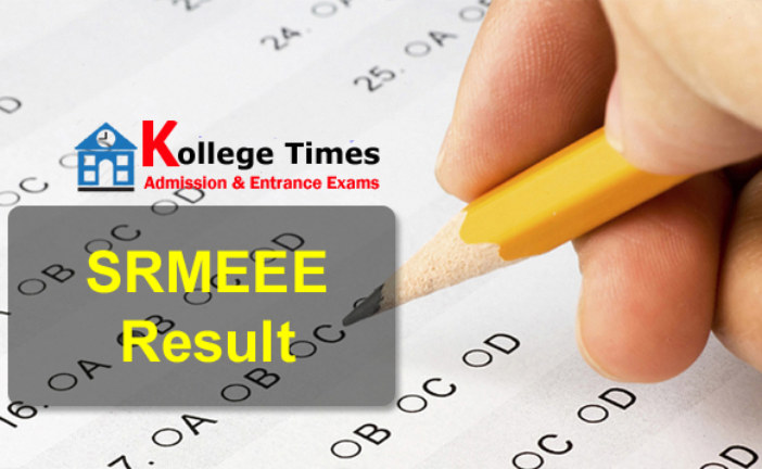SRMJEEE 2018 Result Download Here