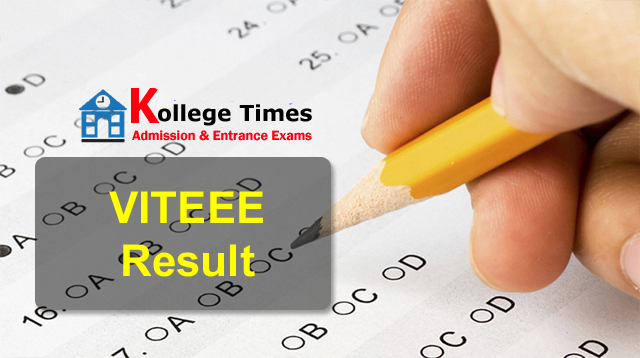 VITEEE Results 2018 :- Check Here - Admission