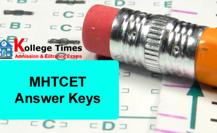 MHT CET Answer Key 2017 | Maharashtra CET :- Download Here