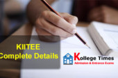 KIITEE 2018 Exam to be conducted from April