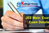 JEE Main Exam 2018 :- Complete Exam Details