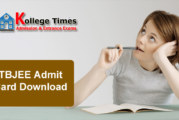 TBJEE 2017 Admit Card | Tripura JEE Hall Tickets 2017