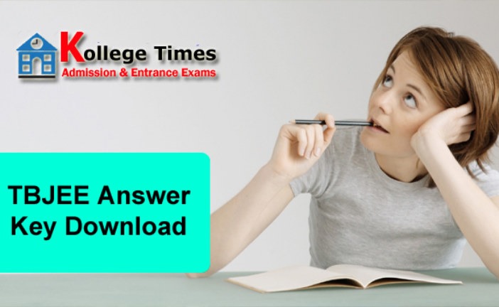 Tripura JEE Answer Key 2016 | TBJEE Answer Key