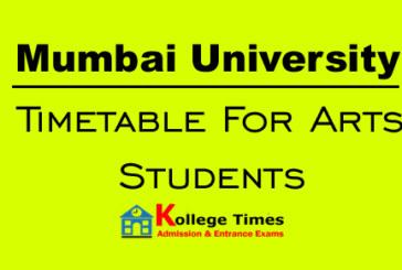 Mumbai University results of Arts students