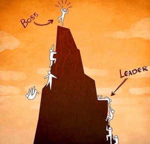 boss-leader-difference-climbing-a-mountain