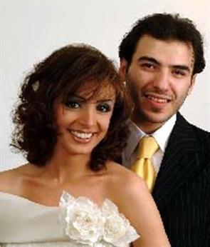انغام وزوجها الثاني فهد الشلبي