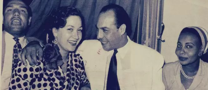 فريد شوقي وشقيقه أحمد