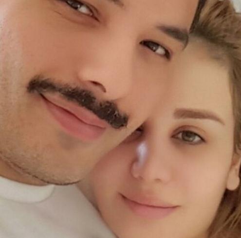 رامي عياش وزوجته داليدا