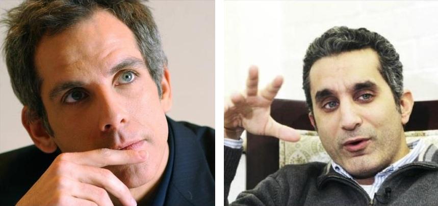 باسم يوسف وبن ستيلر