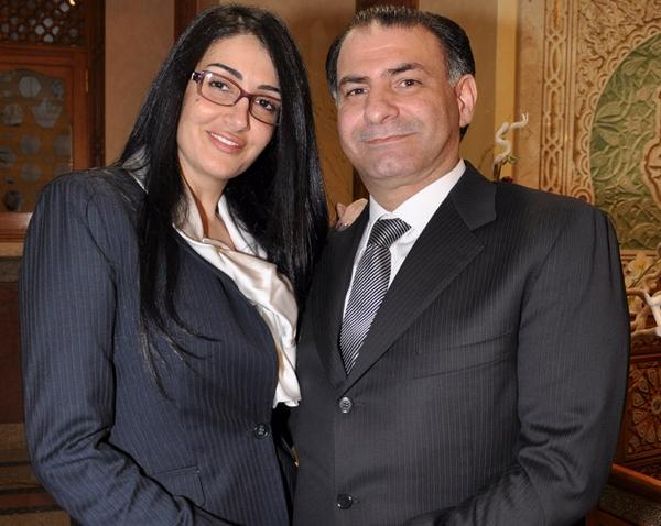 غادة عبدالرازق ومحمد فودة